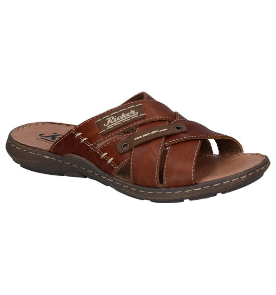 Rieker Bruine Slippers