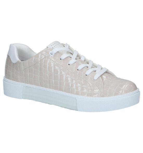 Marco Tozzi Chaussures à lacets en Beige clair