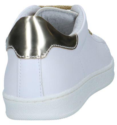 Goud/Witte Lage Sneakers Milo & Mila by Torfs in kunstleer (262655)