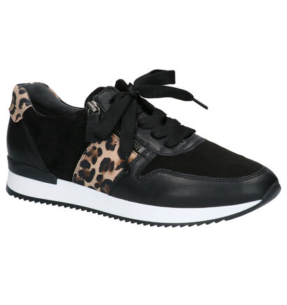 Gabor Chaussures à lacets en Noir en cuir (260219)