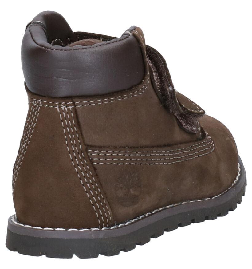 Timberland Pokey Pine Chaussures hautes en Brun foncé en daim (254748)