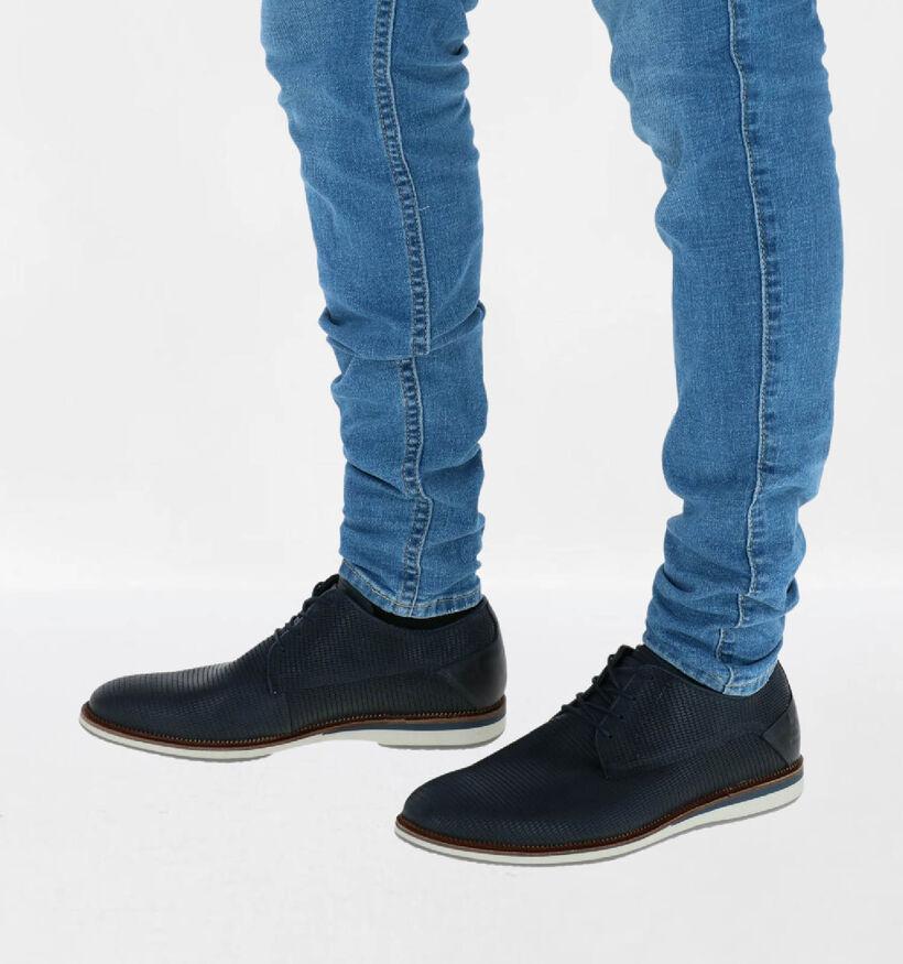 Bullboxer Chaussures habillées en Bleu foncé en cuir (286551)