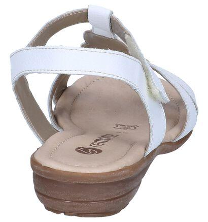 Remonte Witte Sandalen in leer (271917)