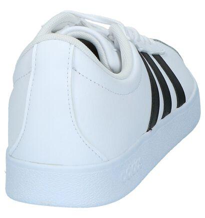 Witte Sneakers adidas VL Court 2.0 in kunstleer (237097)