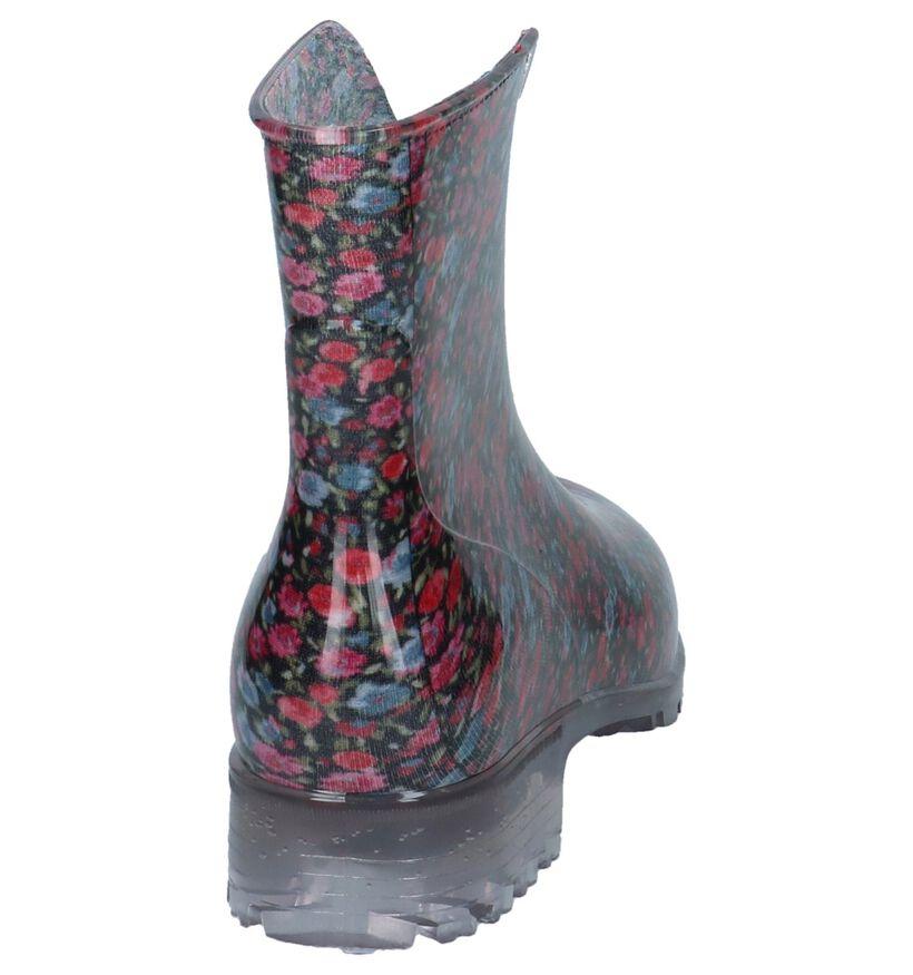 Dazzle Bottes de pluie en Multicolore en synthétique (218718)
