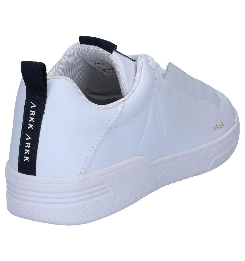 Arkk Witte Sneakers in leer (270999)