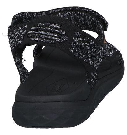 Teva Terra Sandales en Noir en textile (242701)