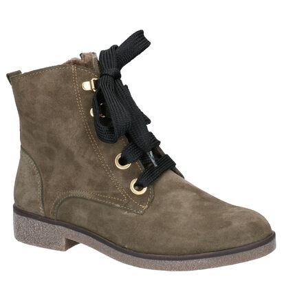 Mirel Boots Kaki in daim (256449)