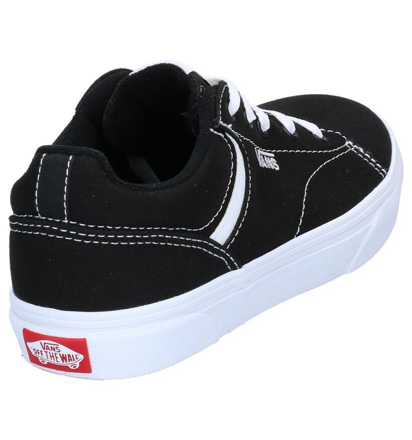 Vans Seldan Baskets Skate en Noir en textile (266623)