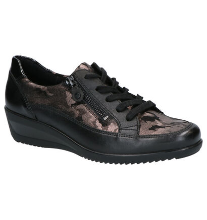 Ara Zürich Chaussures basses en Noir en cuir (260838)