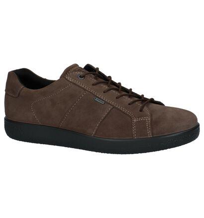 ECCO Chaussures basses en Taupe en daim (235759)