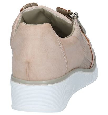 Rieker Chaussures à lacets en Rose en simili cuir (219731)