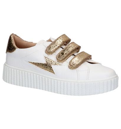 Vanessa Wu Witte Sneakers in kunstleer (277326)