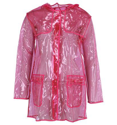 Roze Transparante Regenjas Dazzle by Torfs, Roze, pdp