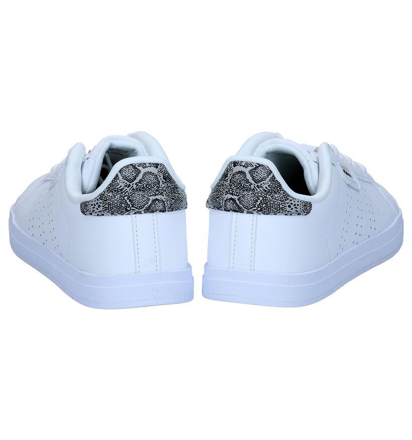 adidas Courtpoint CL X Witte Sneakers in kunstleer (276445)