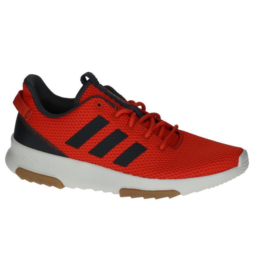 Oranje Sneakers adidas CF Racer in stof (237237)
