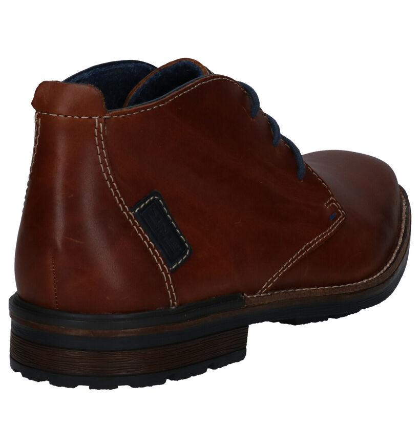 Rieker Chaussures hautes en Marron en cuir (260555)