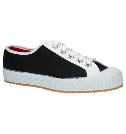 Zwarte Komrads Lenin Sneakers in stof (234044)