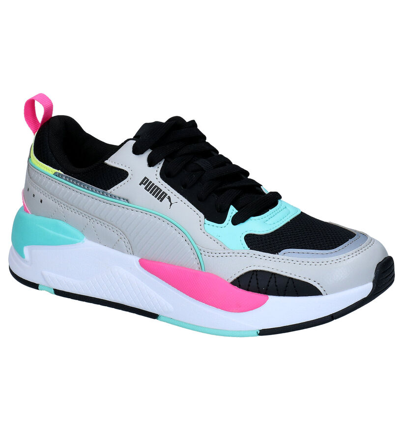 Puma X-Ray 2 Square Baskets en Blanc en simili cuir (276779)
