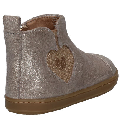 Shoo Pom Bouba Love Chaussures enfants en Or en cuir (255210)