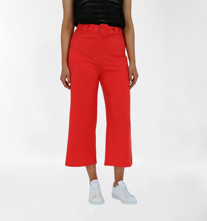 Lofty Manner Pantalon en Rouge (280816)
