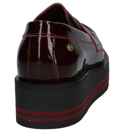 Tommy Hilfiger Mocassins Bordeaux in lakleer (225485)