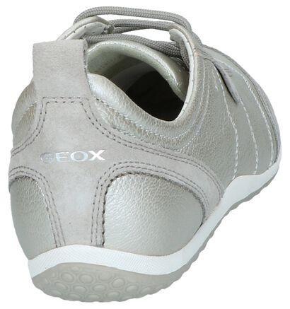 Geox Chaussures basses en Écru en cuir (240300)