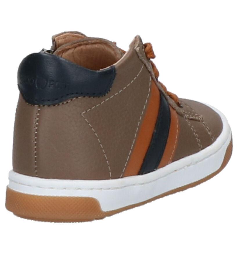 Shoo Pom Oops Duck Chaussures pour Bébé en Taupe en cuir (255221)