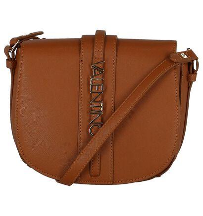 Cognac Crossbody Tas Valentino Handbags in kunstleer (232980)