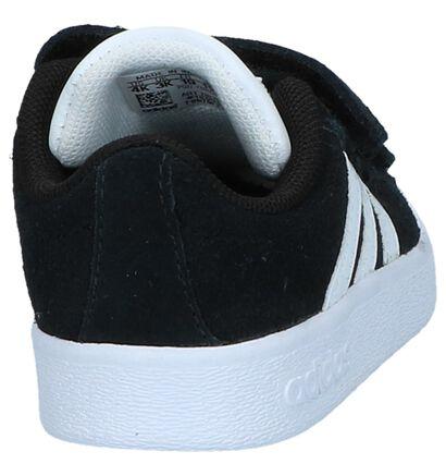 Witte Sneakertjes adidas VL Court 2.0, Zwart, pdp