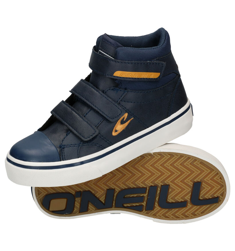 O'Neill Haiku Mid Velcro JR Blauwe Bottines in kunstleer (279678)