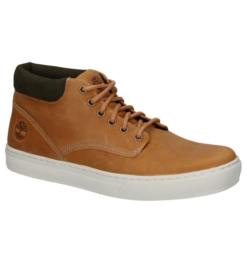 Timberland Adventure Cupsole Chukka Bottines en Naturel en nubuck (278926)
