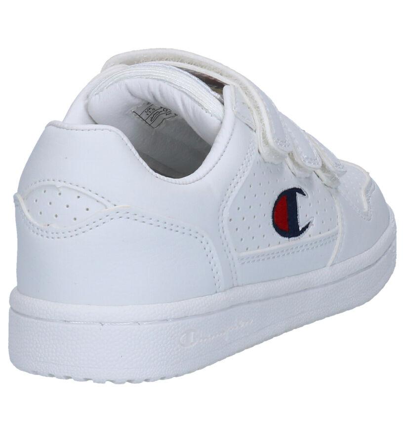 Champion Chicago Witte Sneakers in kunstleer (253752)