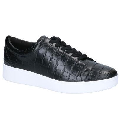 FitFlop Baskets basses en Noir en cuir (264776)