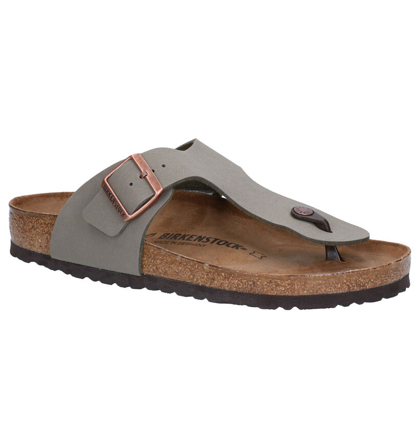 Birkenstock Ramses Tongs en Marron en simili cuir (271230)