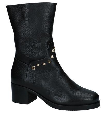 Zwarte Korte Laarzen met Studs Tommy Hilfiger in leer (225491)