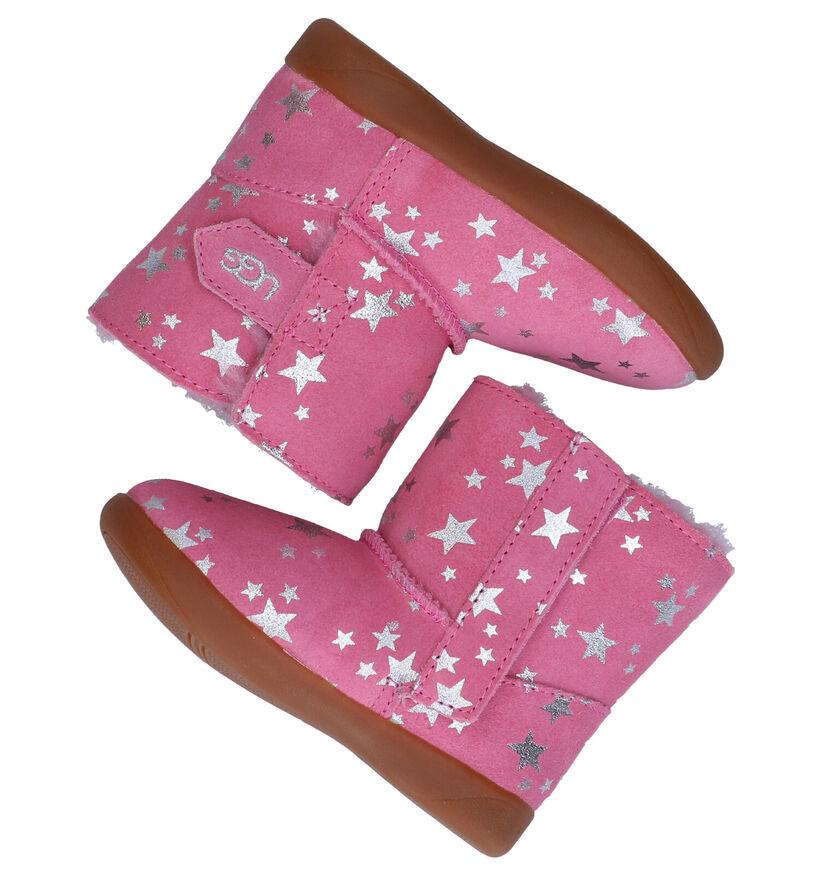 UGG Keelan Stars Roze Boots in nubuck (278797)