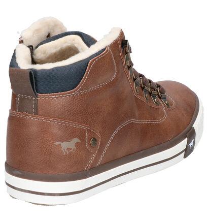 Mustang Chaussures hautes en Cognac en simili cuir (254889)