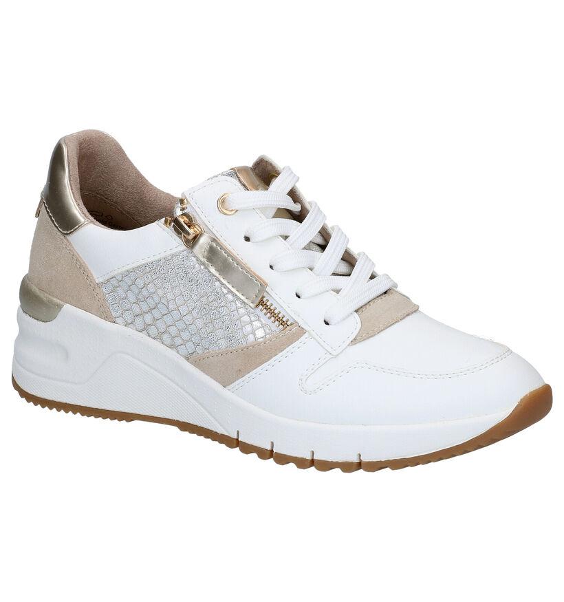 Tamaris Witte Sneakers in kunstleer (286920)