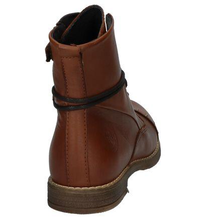 Hampton Bays Chaussures hautes en Noir en cuir (224116)