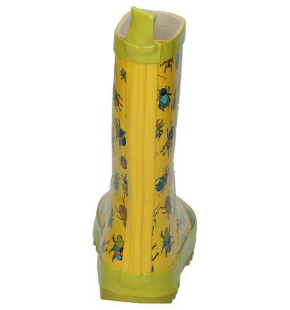 Dazzle Bottes de pluie en Jaune en synthétique (208726)