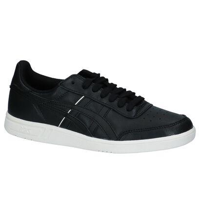 Asics Baskets basses en Noir en cuir (222673)