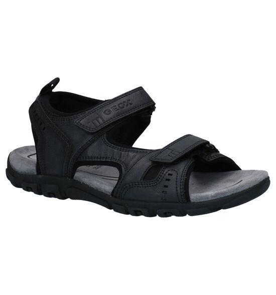 Geox Zwarte Sandalen