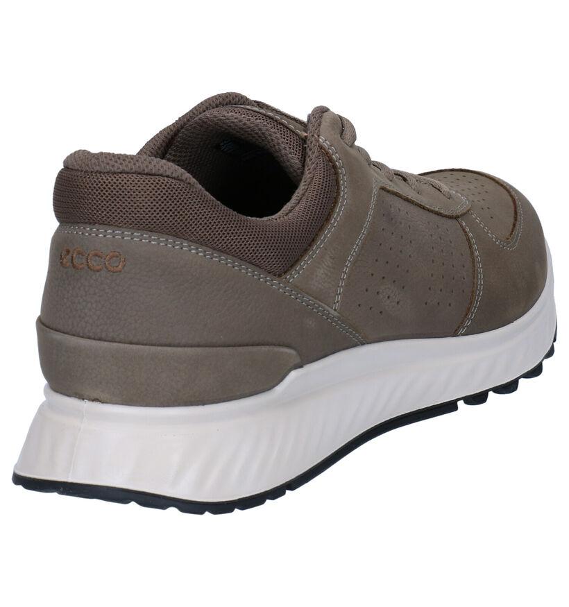 ECCO Exostride Chaussures à Lacets en Vert en cuir (269720)