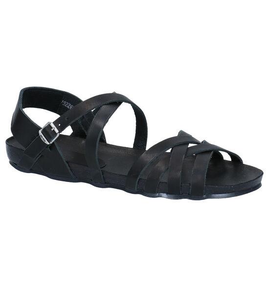 Red Rag Zwarte Sandalen