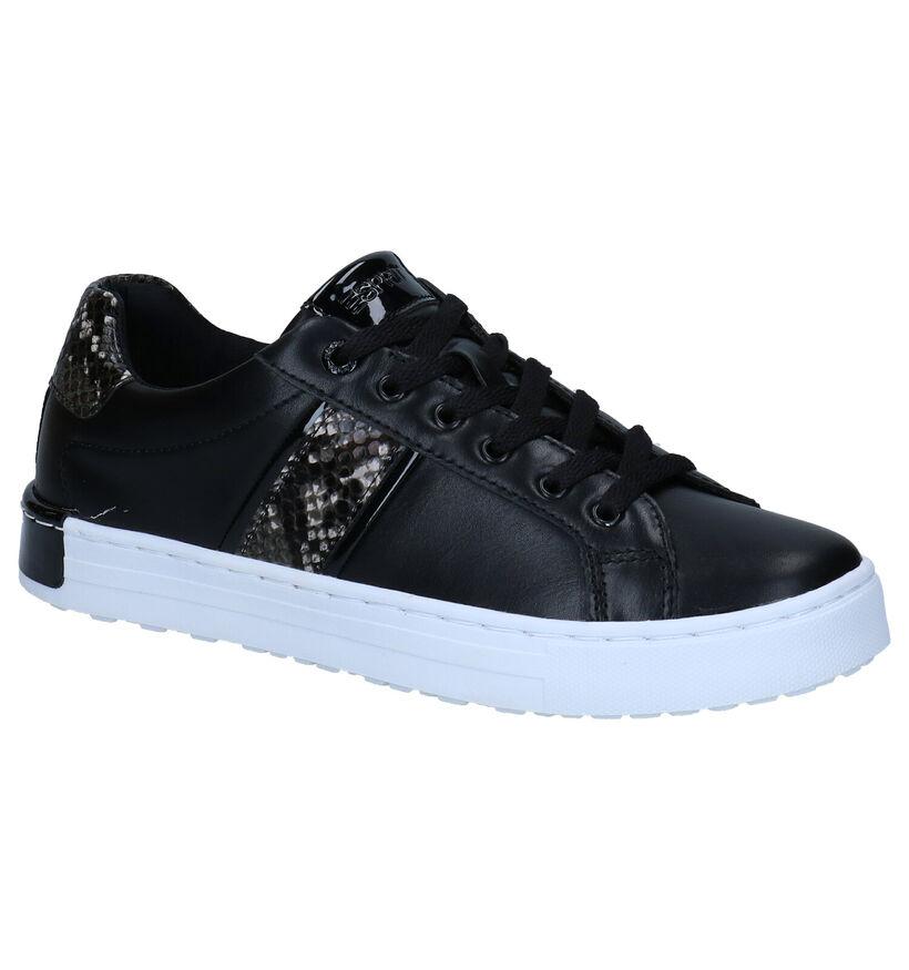 Esprit Zwarte Sneakers in kunstleer (279814)