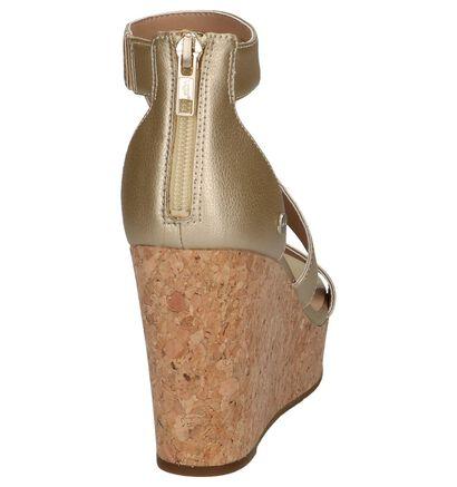 UGG Whitney Metallic Gouden Sandalen in kunstleer (210314)