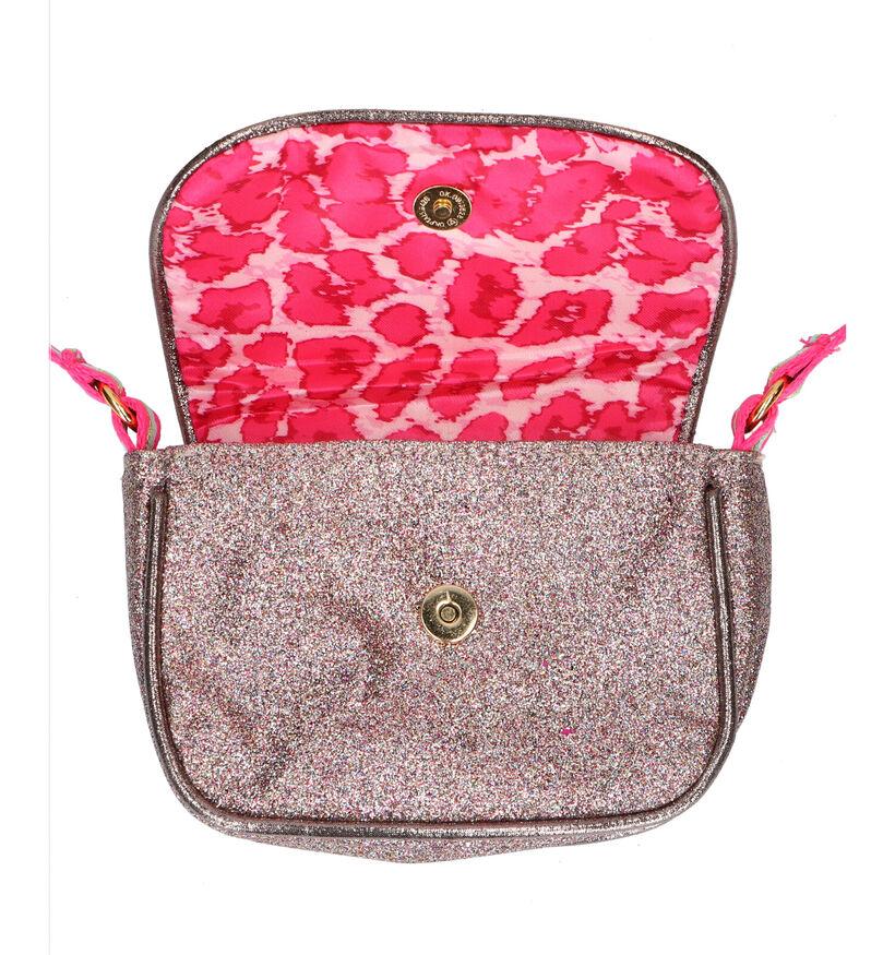 Milky Kiss Sac porté croisé en Rose Golden en simili cuir (292904)