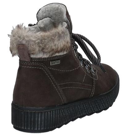 Jana Grijze Boots in stof (257425)