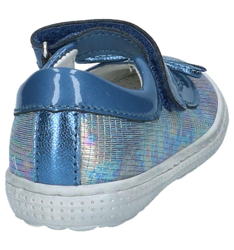 Beberlis Ballerines en Bleu en cuir (215976)